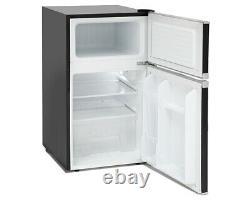 Montpellier MAB2035K Black Retro Under Counter Fridge Freezer 2 Year Warranty
