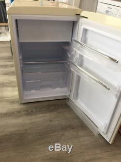 Montpellier MAB551C Under Counter Cream Retro Icebox Fridge Collection Only