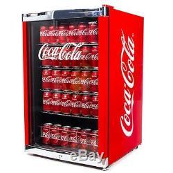 NEW Husky Coca-Cola Mini Fridge Drinks Cooler Official Cola Coke Vending Machine
