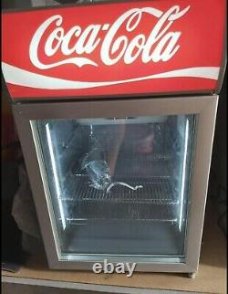 New Coca Cola Display Fridge with light Inside And On Top With Keys