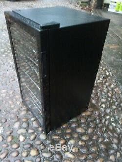 New Graded Black Logik 34 Bottle Wine Cooler- Free Uk Delivery