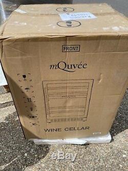 New In Box Mquvee Wine cooler Drinks Fridge undercounter appliance inc vat