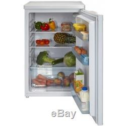 New White Knight Under Counter Fridge L130H Energy Class A+