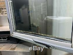 Osborne Under Counter Double Glass Door Drinks Display Fridge 2500
