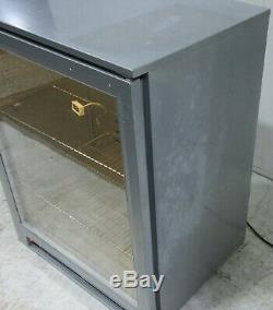 Osborne Under Counter Single Glass Door Drinks Display Fridge 1700 2 Shelves