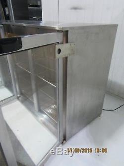 Osborne Under Counter Triple 3 Glass Door Drinks Display Fridge Chiller 4300