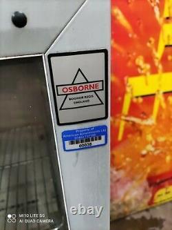 Osbourne triple door Under counter commercial glass fridge bottle cooler
