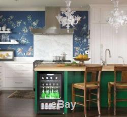 Outdoor Tropical Triple Glazed Glass Bar Fridge 70 Litre (WithD/H) 430x475x690mm