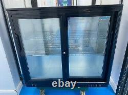 Polar Bottle Cooler/Under-counter Drinks Fridge (Sliding Doors)