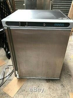 Polar CD081 Stainless Steel Under Counter Freezer 140Ltr