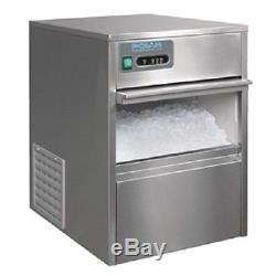 Polar Under Counter Ice Machine 20kg Output T316 Catering Restaurant Smoothie