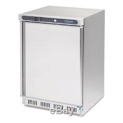 Polar Undercounter Freezer Stainless Steel 140Ltr EBCD081-B