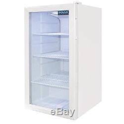 Polar White Under Counter Cooler Display Fridge 88 litre CF750 Catering Bar