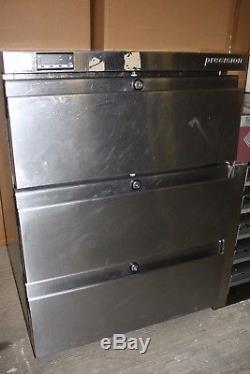 Precision HPU 153 3 drawer undercounter fridge in very good condition