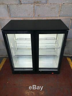Prodis 2 Door Under Counter Drinks Display/ Bar Chiller/ Cooler/ Fridge