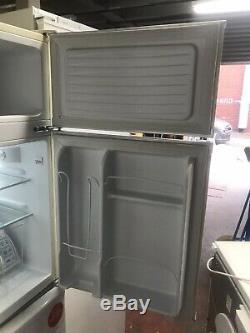 RETRO MONTPELLIER MAB2031C Undercounter Fridge Freezer Cream Ice Box A+ Beige 90
