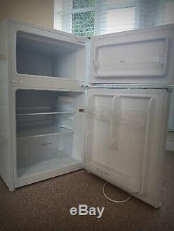 RUSSELL HOBBS under counter fridge freezer white