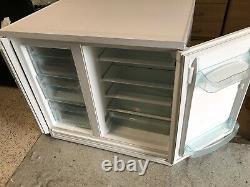 Rare Zanussi Electrolux Under Counter Side By Side Fridge Freezer