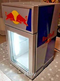 Red Bull Mini Fridge For Cold Drinks For Pub Home Garden Garage 220V-240V