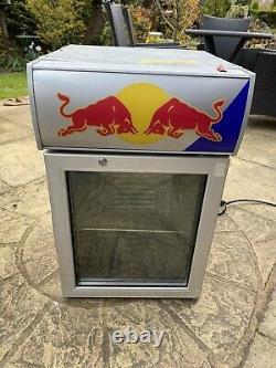 Red Bull Mini Fridge For Pub Home Garden Garage Workshop 220V-240V