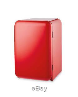 Retro Undercounter Fridge 12 Months Warranty 130 Litre Capacity Single Door RED