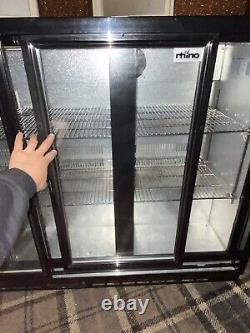 Rhino 3 Door Under-counter bottle fridge