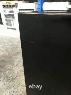 Russell Hobbs RHUCFF50B 50cm Wide Black Under Counter Fridge Freezer 1128