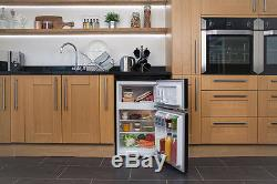 Russell Hobbs RHUCFF50B 50cm Wide Black Under Counter Fridge Freezer RRP £210