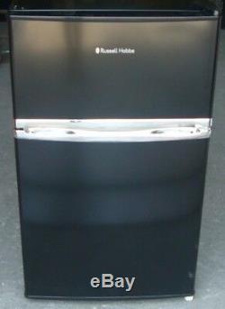 Russell Hobbs RHUCFF50B Under Counter Black Fridge Freezer NEW RRP £249
