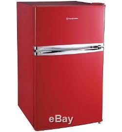 Russell Hobbs RHUCFF50R Under Counter 49.5cm A+ Fridge Freezer Red