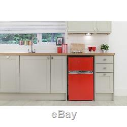 Russell Hobbs RHUCFF50R Under Counter 49.5cm A+ Fridge Freezer Red. From Argos