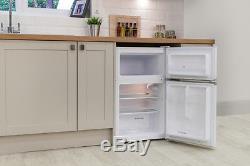Russell Hobbs RHUCFF50W 50cm Wide White Under Counter Fridge Freezer + Warranty
