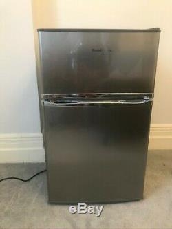 Russell Hobbs RHUCFF50 90L Under Counter Fridge Freezer Silver
