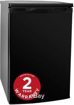 Russell Hobbs RHUCFZ55B Free Standing 80L Under Counter Freezer Black. A+
