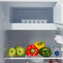 SIA LFISI 48cm Silver Free Standing Under Counter Fridge With 3 Ice Box A+