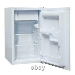 SIA LFIWH 48cm White Free Standing Under Counter Fridge With 3 Ice Box A+ Rated