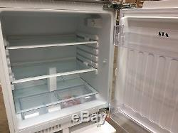 SIA RFU101 Integrated 142L Under Counter Larder Fridge With Auto Defrost A+
