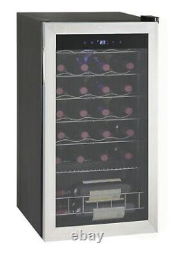 SMAD 95L Under Counter Wine Fridge Drinks Fridge Wine Cooler Champagne 33 Bottle