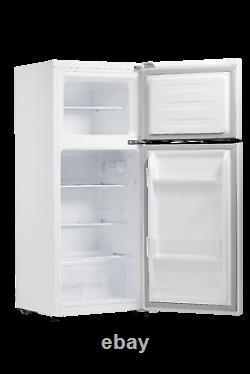 Smad Small Fridge Freezer FreeStanding Undercounter 2 Door 121L Energy Class F