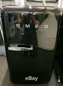 Smeg 50's Retro Style FAB10RNE Fridge with Ice Box Black