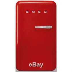 Smeg FAB10LR Retro Undercounter Fridge Red Full Smeg Warranty