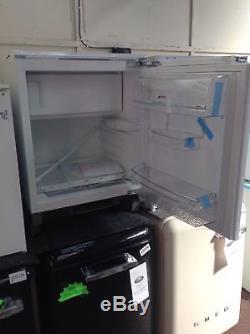 Smeg UKUD7122CSP Integrated Under Counter Fridge with Ice Box #147499