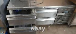 Stainless Steel Undercounter Drawer Fridge Prep Fridge Chiller