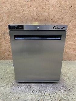 Stainless Steel Williams HA135 SA under counter single door fridge