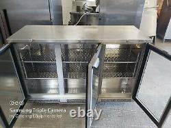 Stainless steel bottle cooler commercial bar cooler undercounter drink fridge