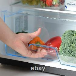 Statesman 55cm Under Counter Fridge with 4 Ice Box Black Large Salad Drawer