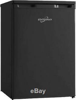 Statesman 55cm Under Counter Larder Fridge Black 133 litre capacity