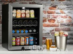 Subcold Super 65 LED SS Beer & Wine Drinks Fridge Table Top / Under Counter