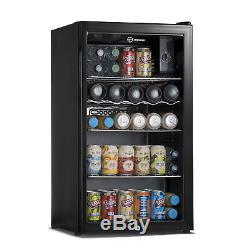 Subcold Super 85L LED Black Refurbished'A Grade' Beer, Wine & Drinks Fridge