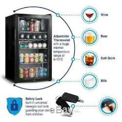 Subcold Super 85L LED Black Refurbished'B Grade' Beer, Wine & Drinks Fridge